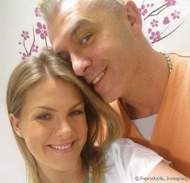 Ana Hickmann vai dar à luz seu primeiro filho, Alexnadre Jr, nesta sexta-feira, 7 de março de 2014