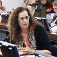 A deputada federal Jandira Feghali fez uma representação contra Rachel Sheherazade e o SBT