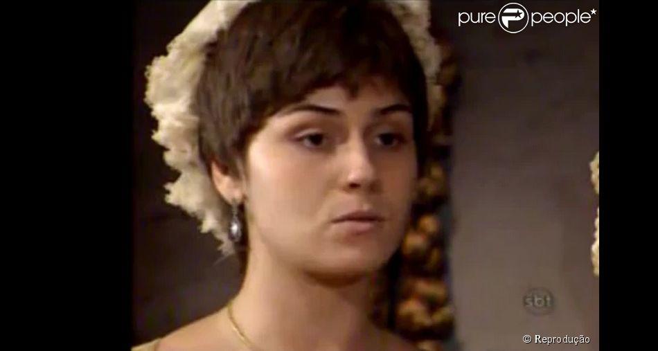 Giovanna Antonelli em cena na novela 'Xica da Silva' (1996)