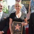 Kate Winslet recebe estrela na Calçada da Fama de Hollywood, em 18 de março de 2014