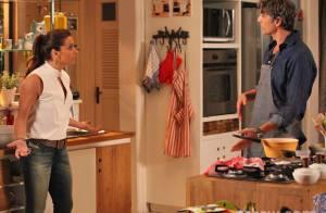 'Em Família': Cadu se revolta com Clara. 'Por que não vai dormir com Marina?'