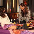 Por ciúmes de Clara (Giavanna Antonelli) com Marina (Tainá Müller), Cadu (Reynaldo Gianecchini) discute com sua mulher, na novela 'Em Família'