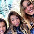 Sasha curte viagem de fim de ano para Nova York com amigas
