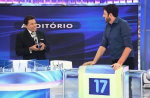 Silvio Santos nega participação no programa de Danilo Gentili: 'Fiz promessa'