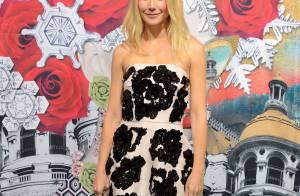 Gwyneth Paltrow e Chris Martin vão juntos à festa com os filhos: 'De mãos dadas'