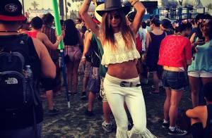 Thaila Ayala curte festival de música Coachella com amigos. Veja fotos!