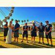 Thaila Ayala está na Califórnia curtindo o primeiro fim de semana do festival de música Coachella, 13 de abril de 2014