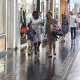 Adriana foi com Vicente a um shopping do Rio