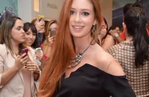 Marina Ruy Barbosa cortará o cabelo na altura dos ombros para 'Falso Brilhante'