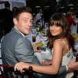 Lea Michele namorou o ator que interpretava Finn Hudson, seu par romântico na série. Cory foi achado morto, aos 31 anos, no quarto do hotel onde estava hospedado, poucos dias antes das gravações da quinta temporada do seriado