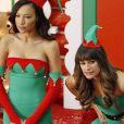 Naya Rivera e Lea Michele teriam se desentendido nos bastidores da série 'Glee', diz site