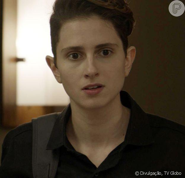 Ivan (Carol Duarte) decidirá interromper a transição de gênero depois de descobrir a gravidez na novela 'A Força do Querer'