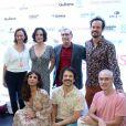 Maria Ribeiro, protagonista do filme 'Como Nossos Pais', se reúne com elenco na pré-estreia do longa,no Cine Roxy, em Copacabana, Zona Sul do Rio de Janeiro, na noite desta terça-feira, 29 de agosto de 2017