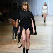 Alinne Moraes relembra carreira de modelo na SPFW:'Friozinho antes de passarela'