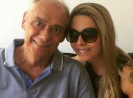 Marcelo Rezende lamenta saudade da namorada, que está nos EUA: 'Volta, meu amor'