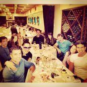 Claudia Raia celebra a Páscoa com os filhos, Enzo e Sophia, e namorado em NY