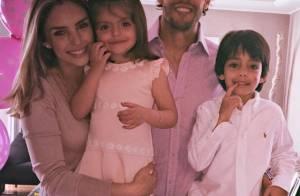 Carol Celico e Kaká comemoram aniversário de 3 anos da filha: 'Princesinha'