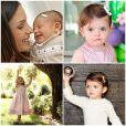 Carol Celico também publicou uma montagem com fotos de Isabella em seus 3 anos de vida