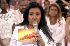 Após homenagem a DG no 'Esquenta', Regina Casé bate recorde de audiência