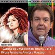 Recentemente Fausto Silva se envolveu em uma crítica sobre racismo envolvendo a dançarina Arielle Macedo, integrante da equipe da funkeira Anitta