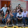 Elenco se reúne nas gravações do último capítulo de 'Além do Horizonte'