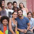 William (Thiago Rodrigues) e Celina (Mariana Rios) adotam Nilson (JP Rufino) no último capítulo de 'Além do Horizonte'