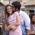 Lili (Juliana Paiva) e Marlon (Rodrigo Simas) ficam juntos e felizes para sempre no último capítulo de 'Além do Horizonte'