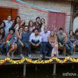 O elenco se reúne no último capítulo de 'Além do Horizonte'
