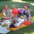 Recentemente Bianca Rinaldi esteve no programa 'Estrelas' com as filhas Beatriz e Sofia