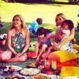 Bianca Rinaldi esteve no programa 'Estrelas' com as filhas Beatriz e Sofia e contou como é o dia a dia das meninas