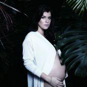 Alinne Moraes dá à luz seu primeiro filho, Pedro, um mês antes do previsto