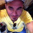 Alexandre Pessoal sofreu um acidente de moto na madrugada de quarta-feira, 7 de maio de 2014