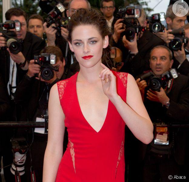 Kristen Stewart veste Reem Acra no Festival de Cannes 2012