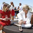 Suzana Pires e Adriane Galisteu participam de almoço promovido pela Stella Artois no Festival de Cannes 2014