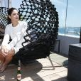 Carol Castro participa de almoço promovido pela Stella Artois no Festival de Cannes 2014