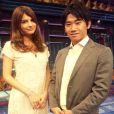 O meio-campo Shinji Kagawa deve receber o apoio da namorada, Margaret Natsuki, durante os jogos da Copa do Mundo