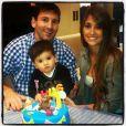Namorados desde a adolescência, Antonella e Messi são pais de Thiago Messi, de 1 ano