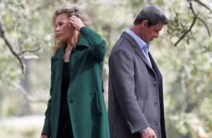 Sylvester Stallone e Kim Basinger rodam cenas do filme 'Grudge Match' nos EUA