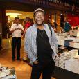 Martinho da Vila no lançamento da biografia de Zdeca Pagodinho, 'Deixe o samba me levar', no Rio de Janeiro