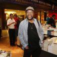 Martinho da Vila no lançamento da biografia de Zeca Pagodinho, 'Deixe o samba me levar', no Rio de Janeiro