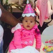 Nivea Stelmann faz festa em comemoração aos dois meses da filha Bruna