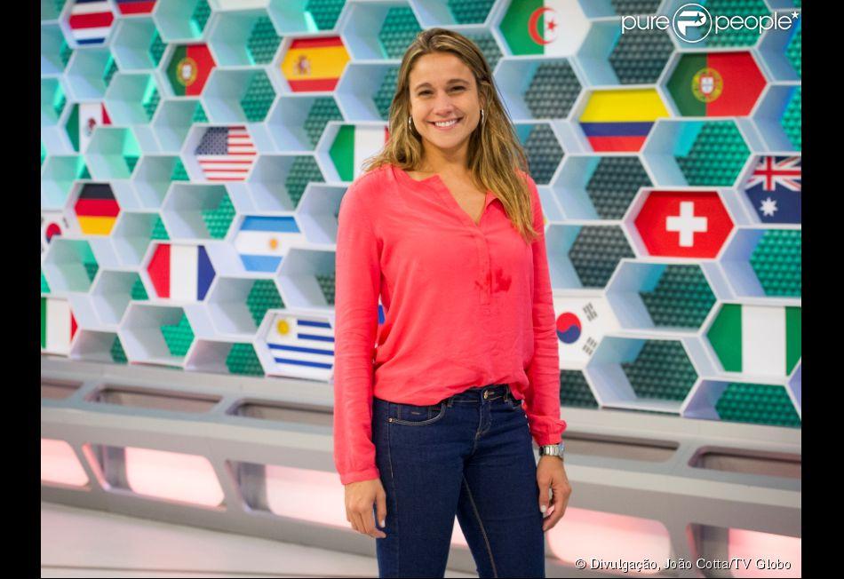 Musa da Copa, Fernanda Gentil não se vê como substituta de Fátima Bernardes (02 de junho de 2014)