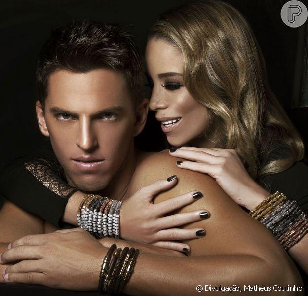 Danielle Winits e Amaury Nunes estrelam campanha de Dia dos Namorados em clima sexy
