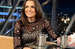 Monica Iozzi conta que gostaria de fazer cena de beijo com Wagner Moura