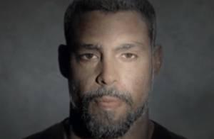Cauã Reymond aparece idoso após mascar chiclete em comercial