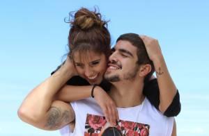 Caio Castro e Camilla Camargo protagonizam cenas românticas no filme 'Travessia'