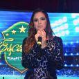 Enquanto Neymar assumia a reconciliação do casal no 'Domingão do Faustão', a atriz estava em um evento em São Paulo e limitou-se a dizer: 'O que tem de mais dois jovens namorarem?'