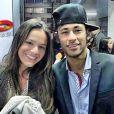 Bruna Marquezine visitou Neymar na primeira noite de concentração na Granja Comary, na madrugada de 27 de maio de 2014, em Teresópolis