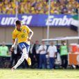 Na tarde do dia 3, Neymar marcou um gol no amistoso contra o Panamá na Serra Dourada, em Goiânia. O Brasil venceu por 4 a 0