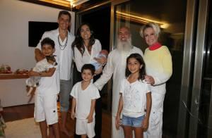 Márcio Garcia recebe famosos em sua casa para retiro espiritual com guru